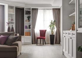 欧式风格米色窗帘设计欣赏