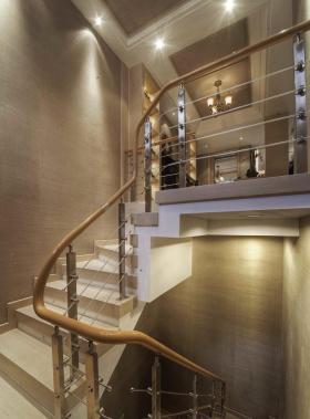 米色新古典楼梯效果图设计