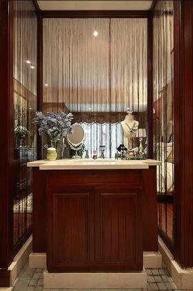 美式风格浪漫精致收纳柜设计装修设计