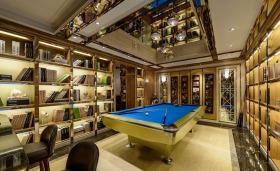 美式风格大气桌球室装修