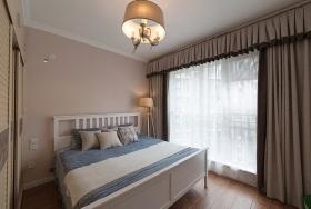 2016现代风格米色卧室装修效果图片
