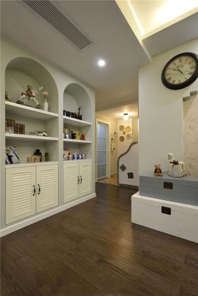 唯美浪漫田园风格收纳柜设计效果图设计