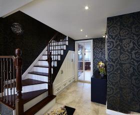 东南亚时尚楼梯装修设计