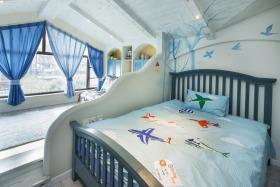 2016地中海风格儿童房窗帘欣赏