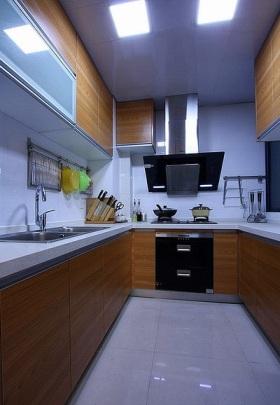宜家简洁厨房装修设计图