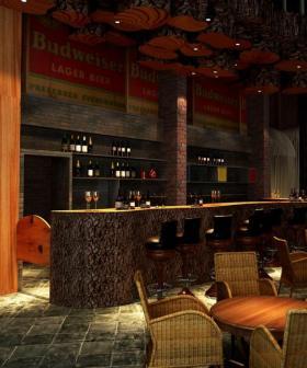 朋克炫酷现代风格时尚吧台设计