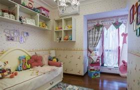 田园粉色可爱创意儿童房设计