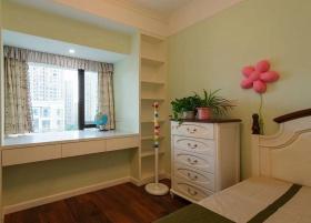 清新绿色宜家风格儿童房装修赏析