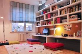宜家风格舒适书房榻榻米赏析