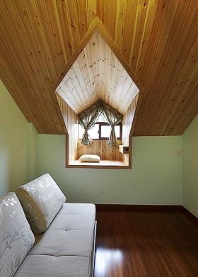 日式风格清新黄色阁楼美图欣赏