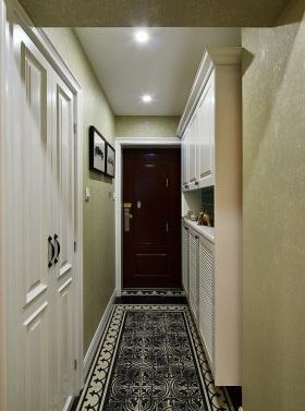 新古典白色清爽鞋柜设计图片欣赏
