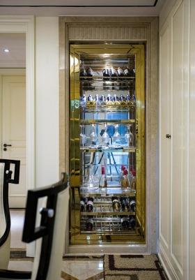 时尚欧式风格酒柜装修案例