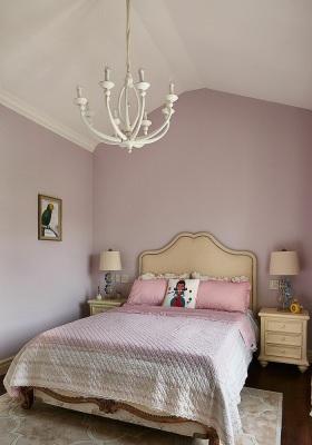 浪漫紫色简欧风格儿童房效果图