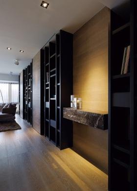 现代风格时尚背景墙装饰效果图赏析