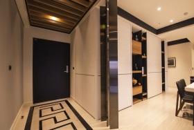 米色现代摩登玄关设计欣赏