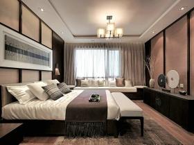 灰色东南亚卧室卧室美图赏析