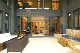 2016黑色大气现代风格客厅装修