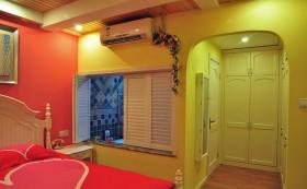 黄色温馨地中海风格卧室装修赏析