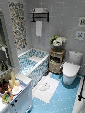 休闲美式风格卫生间装潢设计