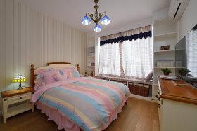米色地中海风格卧室效果图