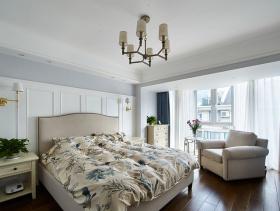 白色简欧风格卧室装修图