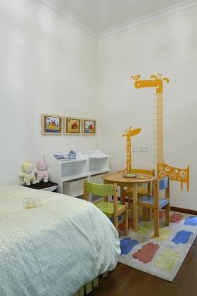 简洁现代儿童房设计图片