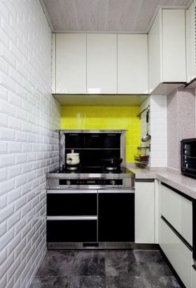 宜家清爽雅致时尚白色厨房装修