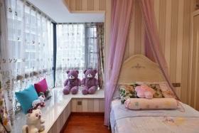 温馨美式风格儿童房装修案例