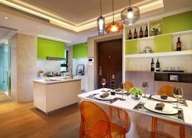 简约风格清新彩色厨房设计赏析