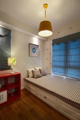 缤纷色彩创意简约风格卧室设计装潢