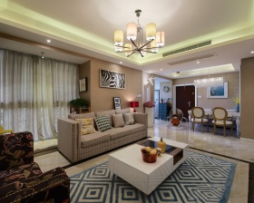 典雅个性时尚新古典客厅图片赏析