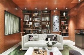 橙色大气2016新古典客厅效果图