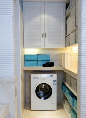2016地中海风格洗衣区装修案例