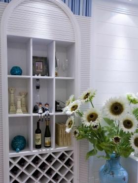 地中海风格收纳展示柜设计