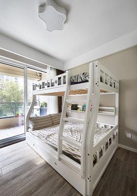 灰色简约清爽欧式风格儿童房装饰案例