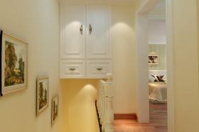 欧式风格米色收纳柜装修效果图片