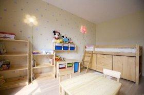 米色清新混搭风格儿童房装修赏析