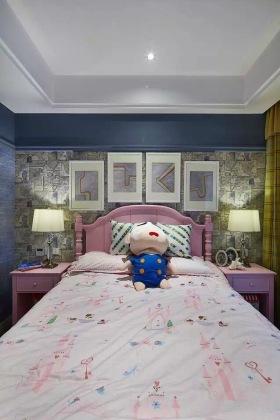 混搭风格灰色儿童房效果图设计