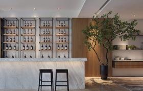 中式风格雅致酒柜布置美图