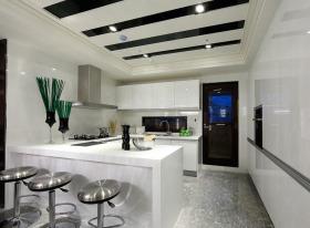 新古典厨房吧台装饰欣赏