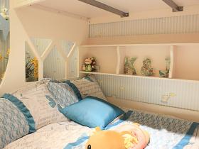 清新田园风格米色儿童房装饰图