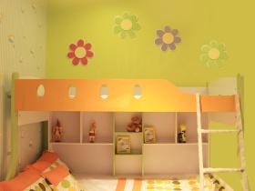 简约风格儿童房效果图欣赏