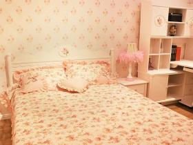 可爱粉色简欧风格儿童房装修设计