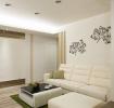 浪漫白色清新田园客厅效果图设计