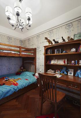 2016雅致新古典原木色儿童房装修设计