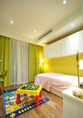 现代风格儿童房装修设计图