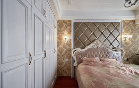 温馨简欧精致风格卧室衣柜装饰案例