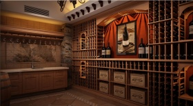 欧式时尚酒柜设计欣赏