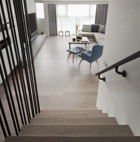 简约风格灰色质感楼梯效果图欣赏