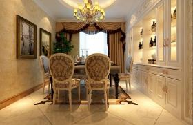 华丽时尚欧式风格餐厅设计赏析